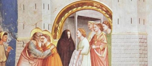 Fresco de Giotto di Bondone, 1305