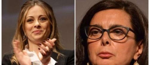 Giorgia Meloni attacca Laura Boldrini. BlastingNews