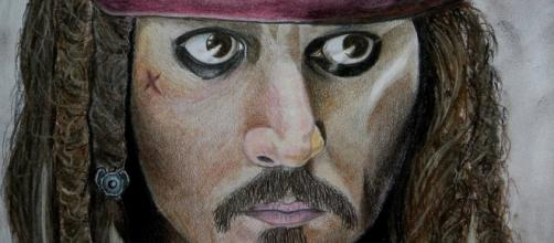 Johnny Depp. Jack Sparrow. Image via Pixabay
