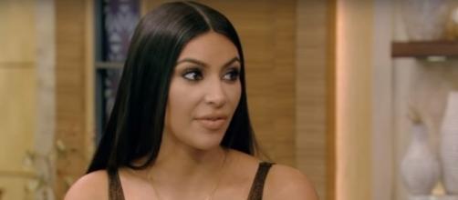 Kim Kardashian West- (YouTube/LIVEKellyandRyan)