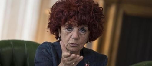 La ministra dell'Istruzione Valeria Fedeli