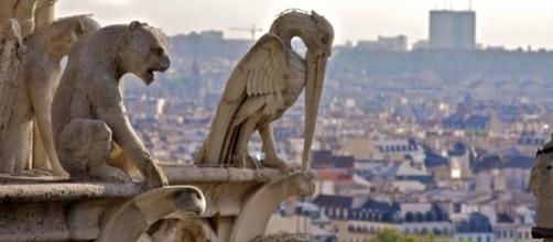 Notre Dame, statue e gargoyle in pezzi. (fonte foto:internet)