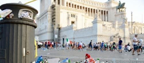 Piazza Venezia a Roma, Altare della Patria - Fonte: Google.
