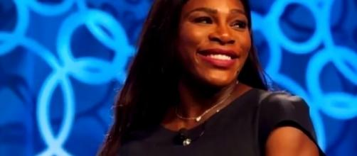 Serena Williams gives birth to a baby girl. YouTube/ET