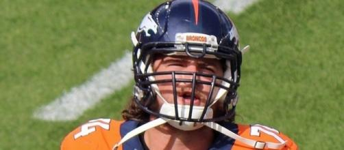 Ty Sambrailo, a player on the National Football League [Image by Jeffrey Beall|Wikimedia Commons| Cropped | CC BY-4.0 ]