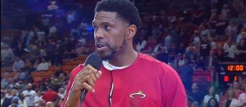 Udonis Haslem aims to have Dwyane Wade back in Miami -- FOXSportsFlorida FOXSportsSun via YouTube