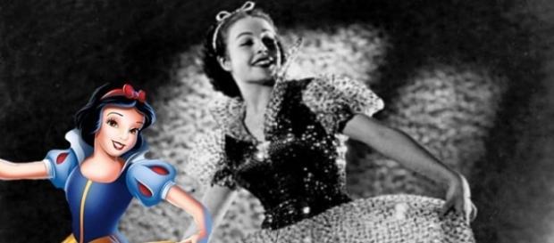 A atriz Marge Champion em 1937