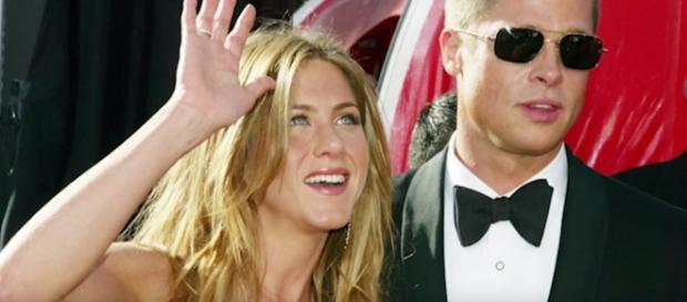 Brad Pitt, Jennifer Aniston - YouTube screenshot   Nicki Swift