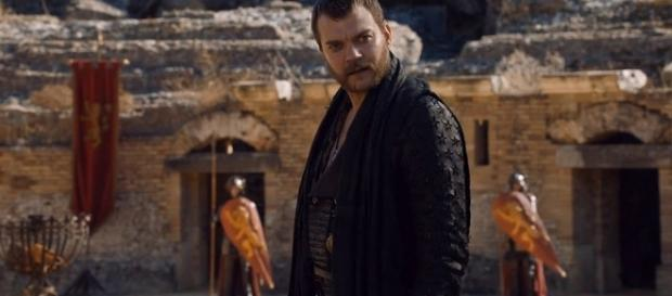 Euron Greyjoy in 'Game of Thrones' - Image via YouTube/Euron Crow's Eye