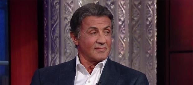"Sylvester Stallone is already gearing up to film the ""Creed"" sequel in 2018. (YouTube/The Late Show with Stephen Colbert)"
