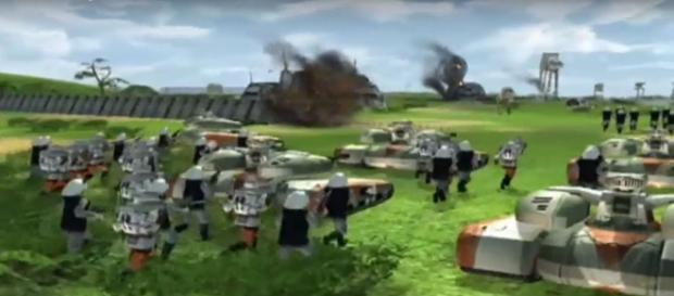 The online multiplayer has returned in 'Star Wars: Empire at War.' Photo via WarRockAdminTareck/YouTube