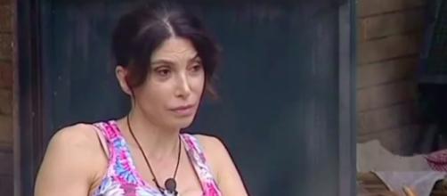 Carmen Di Pietro nella Casa del GF Vip