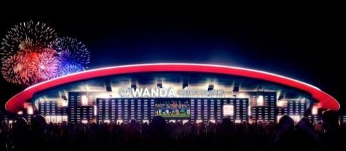 Estadio Wanda Metropolitano sede de la final de la Champions 2019