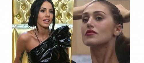 Grande Fratello VIP: Giulia De Lellis e Cecilia Rodriguez 'nemiche' a distanza.