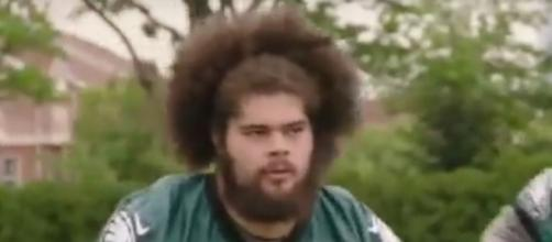 Isaac Seumalo is not going to get benched. - Image Credit: Further A.M. / YouTube