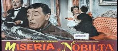 """La locandina di """"Miseria e Nobiltà"""" del 1954"""