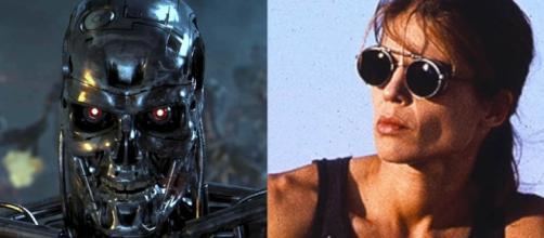 "Linda Hamilton and Arnold Schwarzenegger will be back for ""Terminator 6"" [Image: YouTube/Mr H Reviews]"