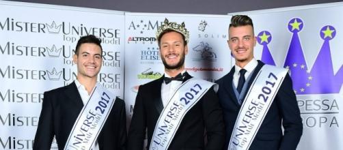 Michele De Falco Iovane ed Alessandro Sannino a Mister Universe.