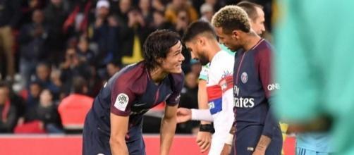Neymar Cavani PSG - eurosport.com