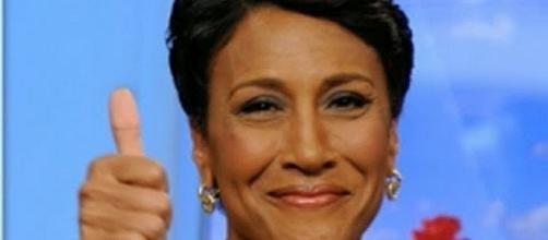 Robin Roberts celebrates fifth years after bone marrow transplant [Image: ABC News/YouTube screenshot]
