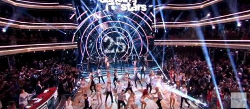 "The much-awaited season premiere of ""Dancing With The Stars"" kicked off Monday night. [Image via Dancing With The Stars/YouTube]"