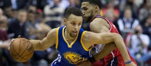 Stephen Curry signed a five-year contract worth $201 million -- Keith Allison via WikiCommons