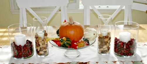Fall table setting - Image Credit: HomeSpot HQ / Flickr
