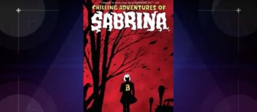 "The CW and Warner Bros TV teams up to remake ""Sabrina the Teenage Witch"" as a horror show. Photo via YouTube channel Nerdist."