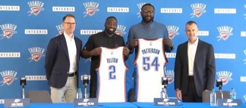 Thunder forward Patrick Patterson continues to recover from a knee procedure -- NewsOK via YouTube