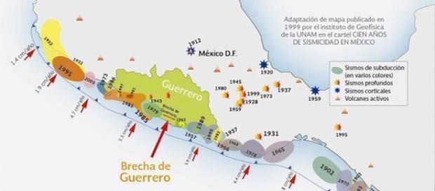 Brecha de Guerrero, una bomba de tiempo sísmica. - planoinformativo.com
