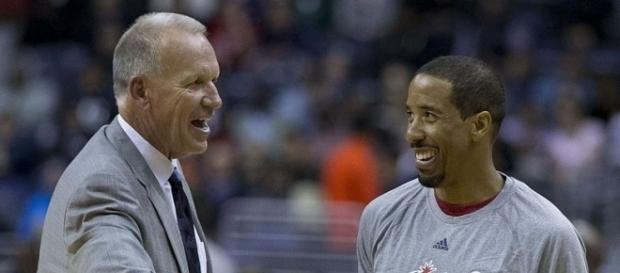 Doug Collins with Andre Miller (c) https://www.flickr.com/photos/27003603@N00