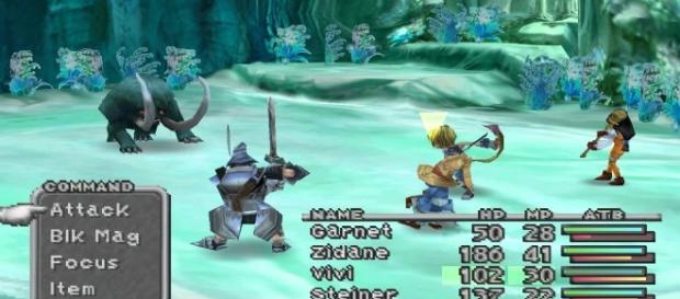 'Final Fantasy IX' gameplay. [image source: YouTube/OSIRIS)