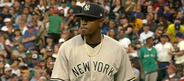 Luis Severino gets the start for the Yankees when they host Minnesota at 1 p.m. ET on Wednesday. [Image via MLB/YouTube]