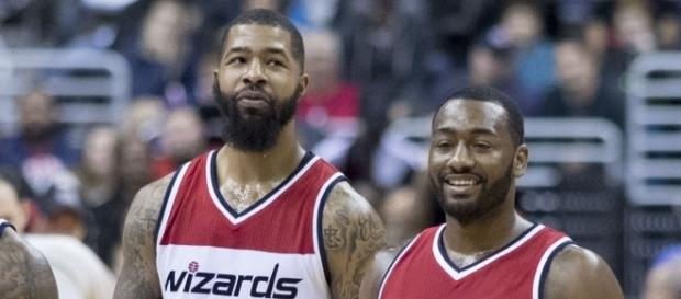 Markieff Morris with John Wall | Flickr | Keith Allison