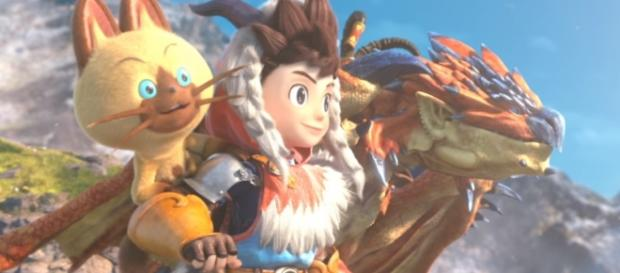Monster Hunter Stories is out now for the 3DS. Credits by: Youtube/Nintendo