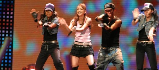 Namie Amuro performing at the MAA | photo via Wikimedia