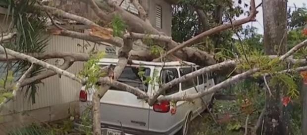 Puerto Rico braces for the impact of Hurricane Maria. YouTube/CBS Evening News