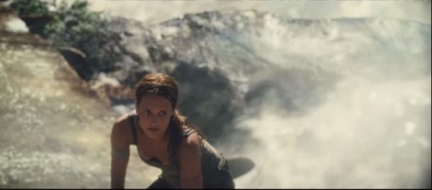 Tomb Raider 2018 movie trailer - Youtube screen grab