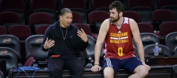 Tyronn Lue says Kevin Love will have his best season - YouTube Screen Grab (NBA)