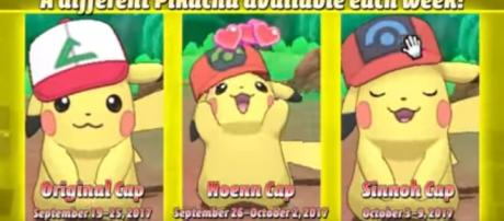 'Pokemon Sun and Moon' is offering players the chance to grab Charizard and Ash Hat Pikachu now until October. The Official Pokemon/YouTube