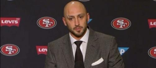 Brian Hoyer struggled in the first two games of the season for the 49ers 49ers/ Video screegrab