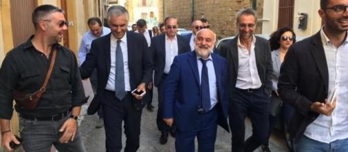 Elezioni 2017 Sicilia, Micari e Panepinto a Ribera (Agrigento)