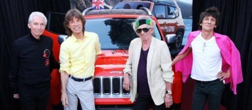 Il gruppo inglese dei Rolling STones