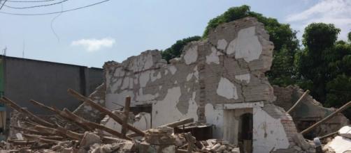 impactantes derrumbes tras terremoto