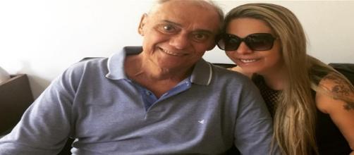 Marcelo Rezende e Luciana Lacerda