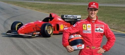 Reports suggest that there is a new hope for Michael Schumacher. Photo by PAPARAZZI NEWS/YouTube Screenshot