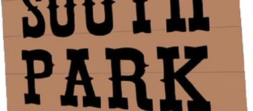 South Park logo sign (wikimedia commons)