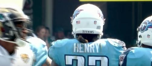 Tennessee Titans running back Derrick Henry could be poised for a heavy workload in Week 3 - YouTube/Dave Blanco Channel