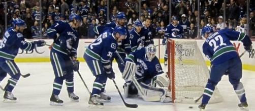 The Vancouver Canucks (Wikimedia Commons/Orlandkurtenbach)