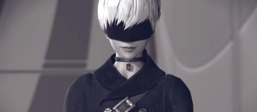 Yorha 9S of NieR: Automata. Credits to: Youtube/Square Enix UK